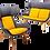 Thumbnail: Klyro High Back - Lounge Chair