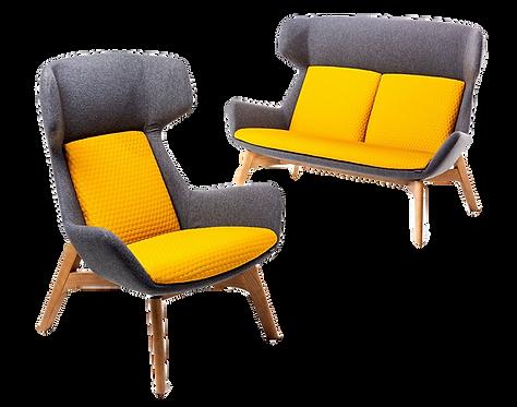 Klyro High Back - Lounge Chair