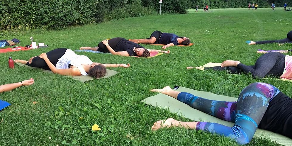 Yoga in the NATURE 03.09.2020