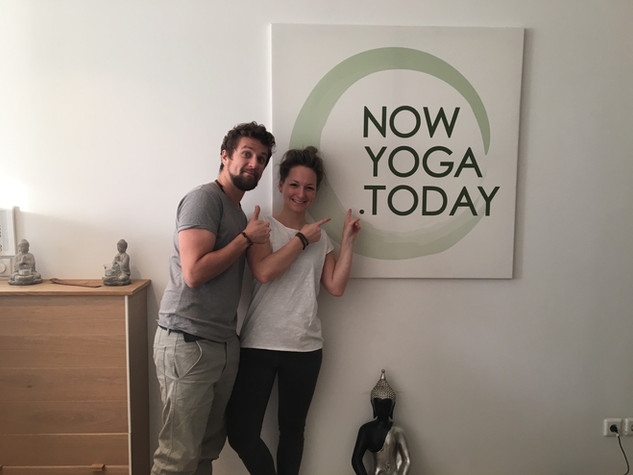 Besuch Now Yoga Besuch :-)