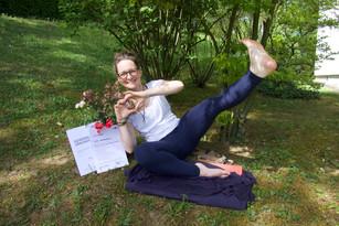 Jippii Gwerbeschein für Nuad Thai Massage :-)
