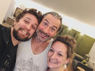Wunderbare, erfüllende und herzliche Zeit in Wiesbaden mit Zoli Varga erlebt ❤️😘🙏 Danke für tiefgründige Yogaeinheiten von YOGAlicious & Frank Bartl! Doch vor allem DANKE für die familiäre Gastfreundlichkeit im NowYoga.today, Offenheit, Kennenlernen neue Yogis, motivierende & bestärkende Gespräche!! ❤️❤️ Schön, dass es euch gibt!!!