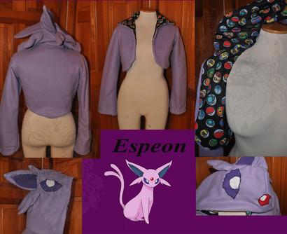 Espeon Cosplay Jacket