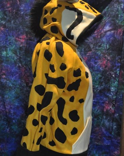 King Cheetah hoodie