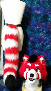 Toony Red Panda