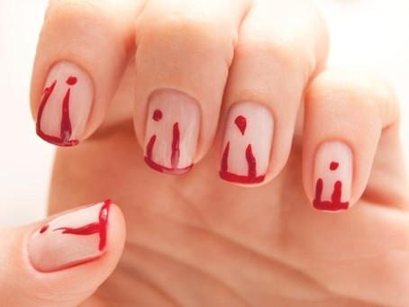 Atenção manicures (sem dor sem sangue)