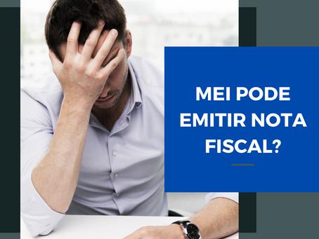 Mas afinal, MEI pode emitir nota fiscal?