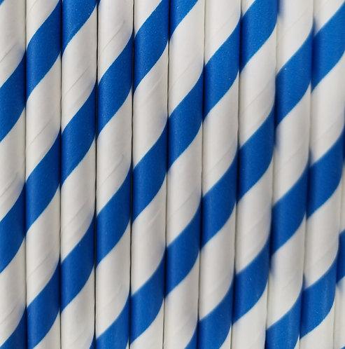 Rayas Azules 6x260mm paquete de 500 piezas