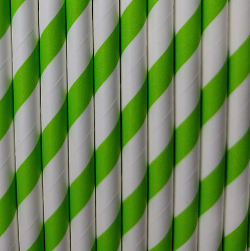 Rayas Verde 6x210mm paquete de 500 piezas
