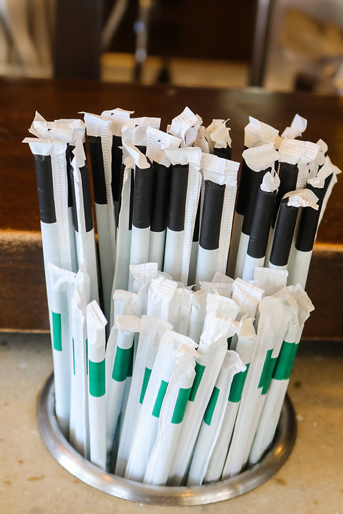 Liso Blanco Estuchado 6x260mm paquete de 500 piezas