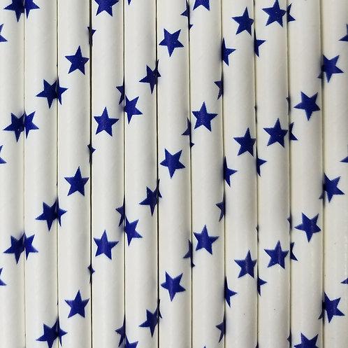 Estrellas Azul 6x210mm paquete de 500 piezas