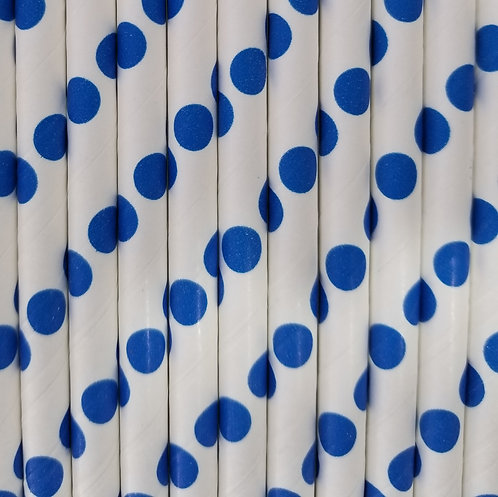 Lunares Azul 6x210mm paquete de 500 piezas