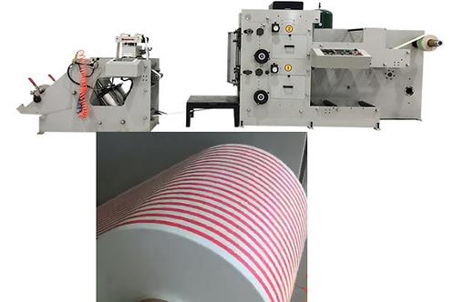 Impresora para papel 2 colores para popotes