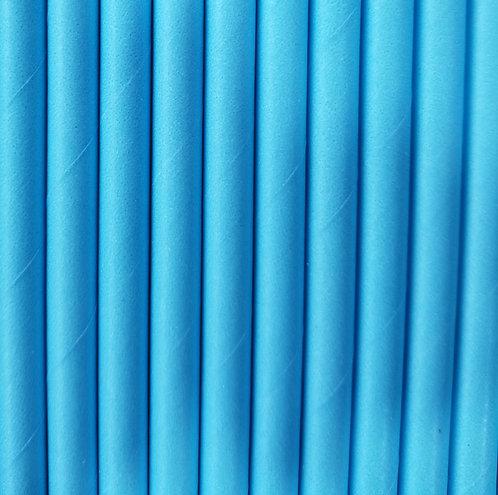 Liso Azul Bebe 6x210mm paquete de 500 piezas