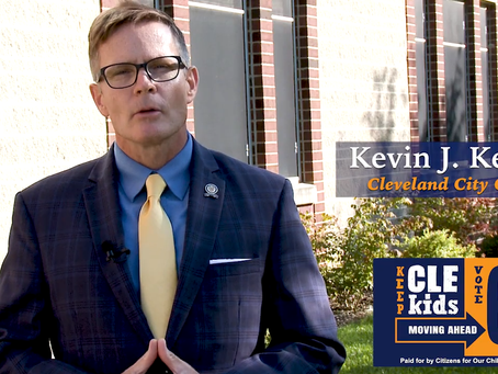 WATCH: Cleveland City Council President Kevin Kelley Endorses Issue 68