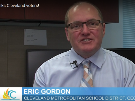 CMSD CEO Eric Gordon Thanks Voters for Passing Issue 68