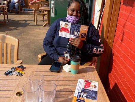 PHOTOS: Volunteers Support Issue 68 Literature Drops