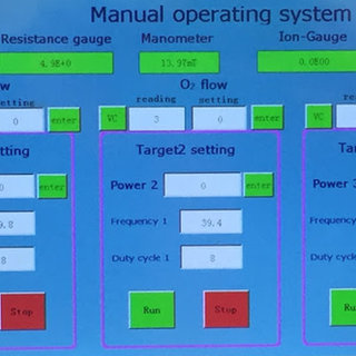 Manual operating system interface