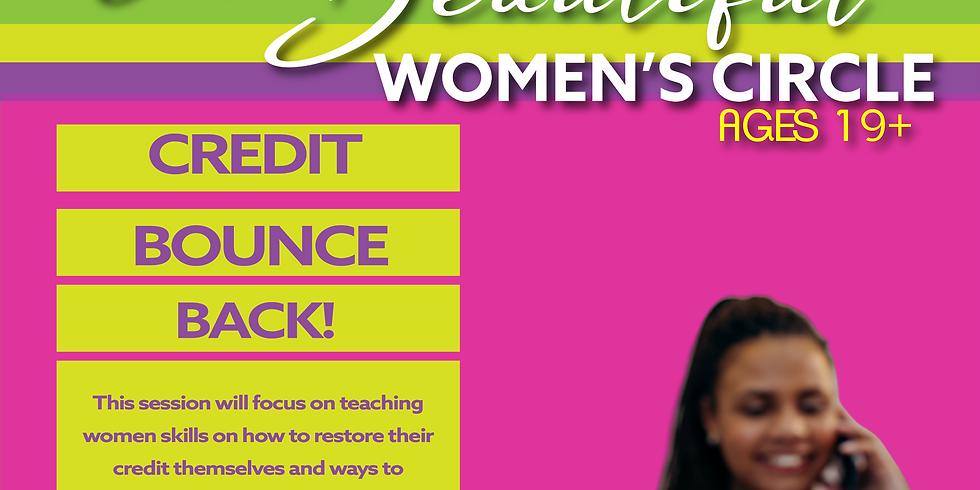 I Am Beautiful Women's Circle: Credit Bounce Back