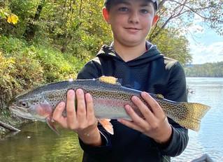 Cumberland River Fishing Report 10-20-20.