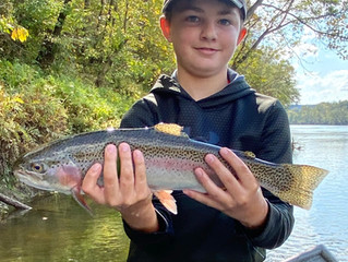 Cumberland River Fishing Report 10-20-20.