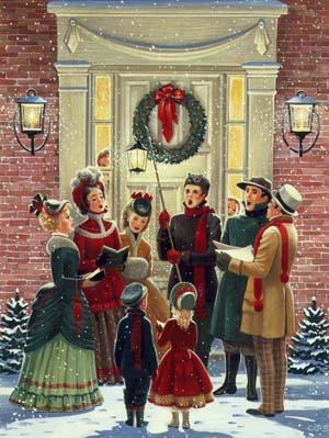 Christmas Caroling