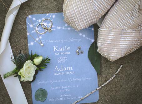 Just a walk in the Woods...Adam & Katie's Wedding