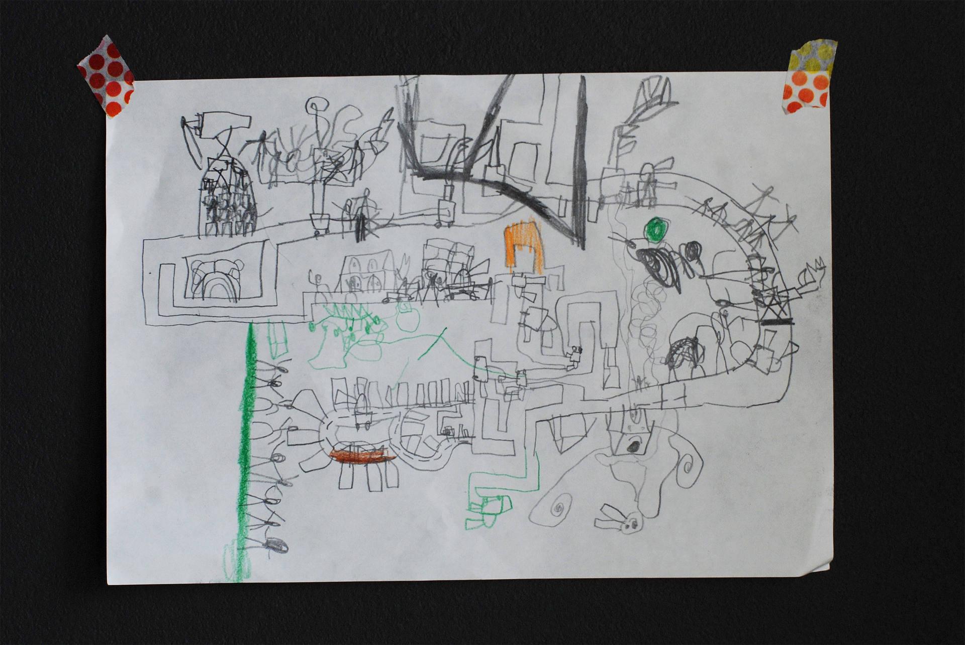 家族の作品展