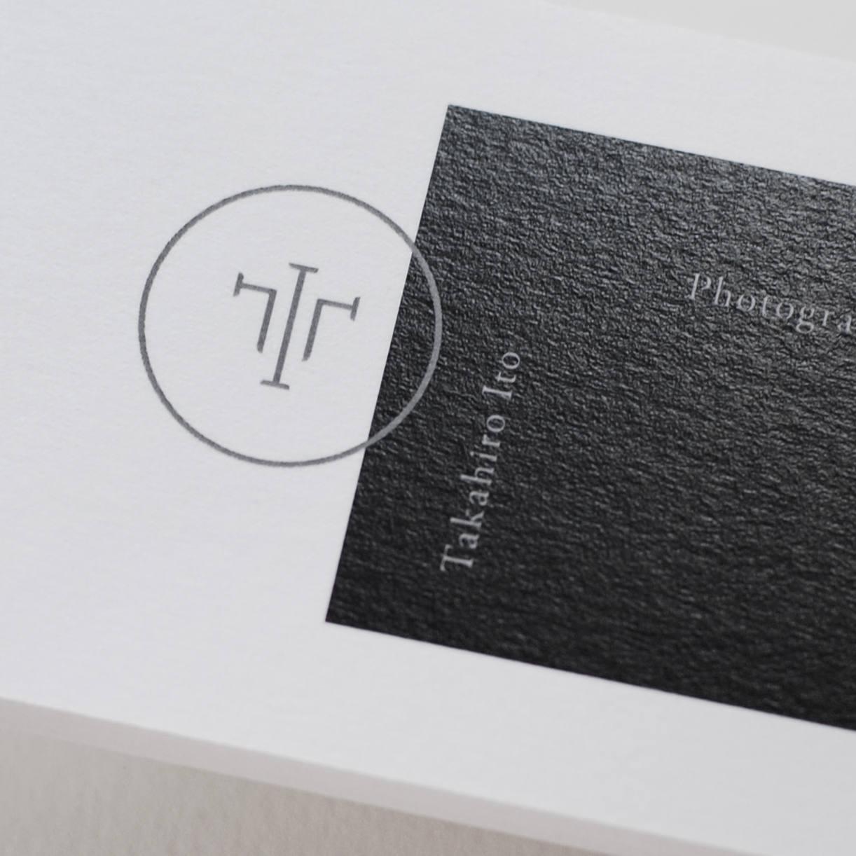 Takahiro Ito ロゴ・名刺