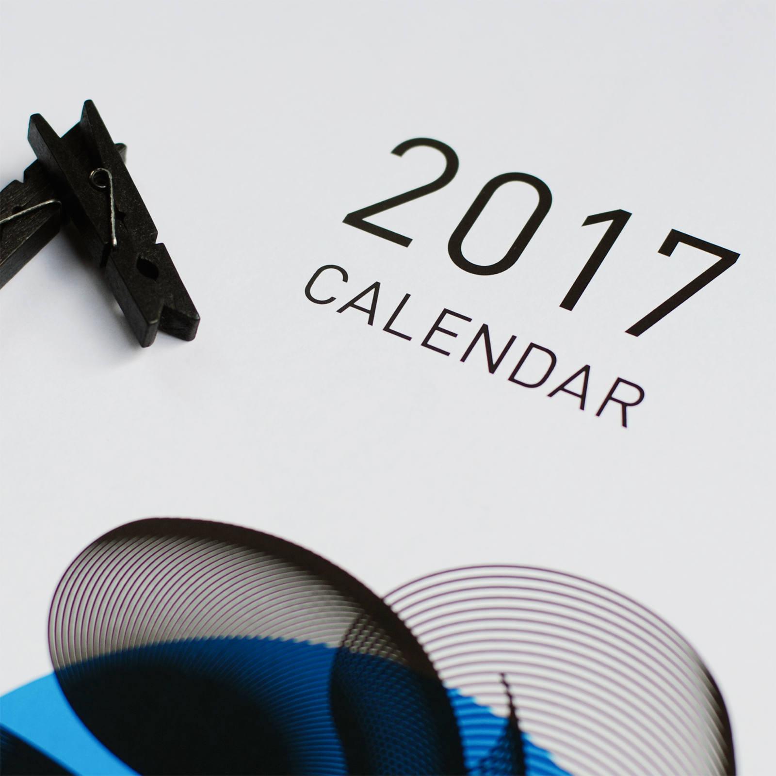 2017年 カレンダー