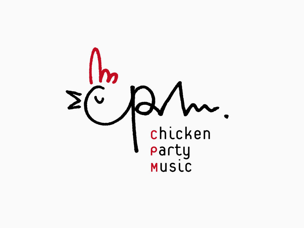 chicken party musicのロゴ
