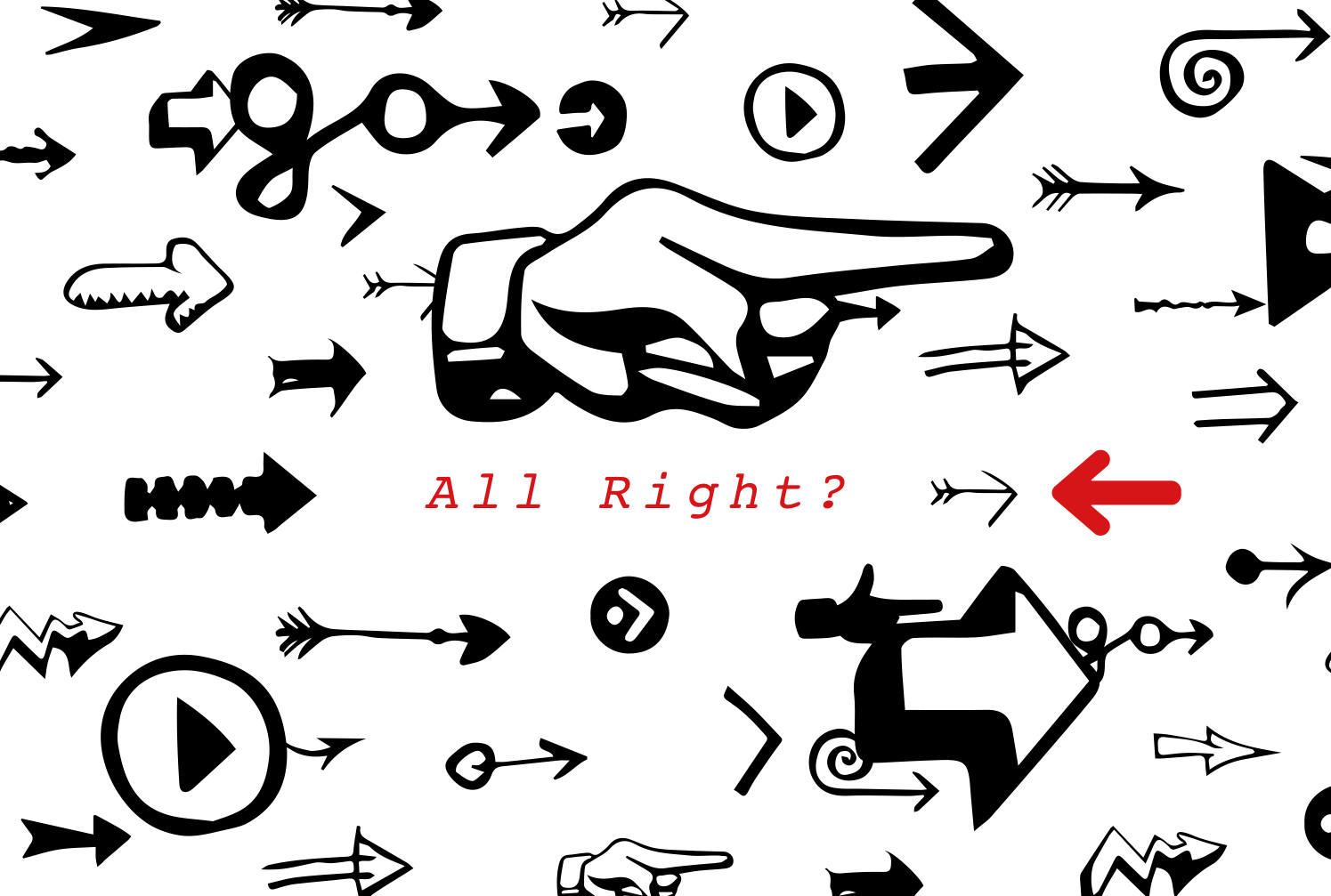All Right ? Tシャツ