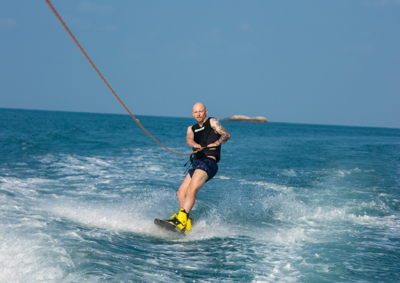 Sunny Christmas Day Wakeboarding on Koh Phangan