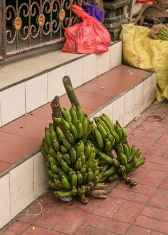 banana plant food market bali denpasar