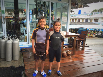 Latest Pirate Divers Recruits