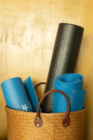 yoga exercise matt koh phangan property