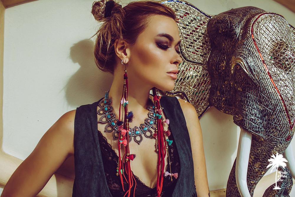 Milena krawetz fashion photography bohemian