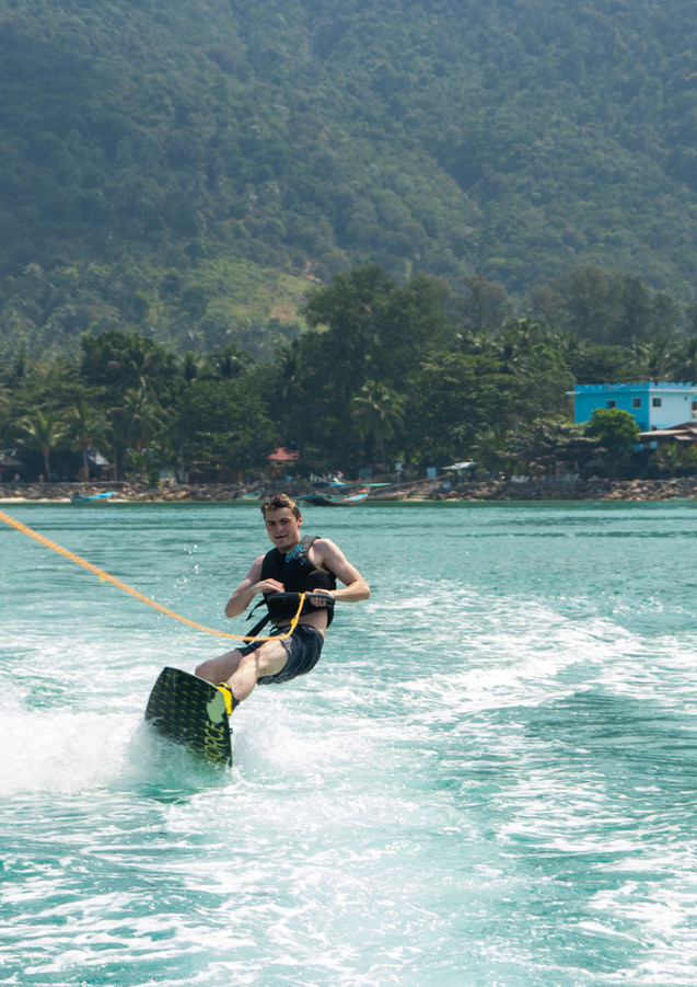 Wake Up! Wakeboarding in Koh Phangan
