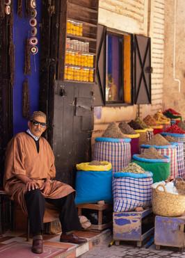 herboriste traditional marrakech spices morocco