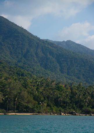 Chaloklum scenery, Koh Phangan