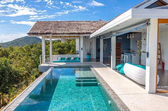 villa rental photoshoot thailand koh pha