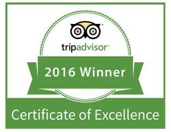 tripadvisor certificate excellenc