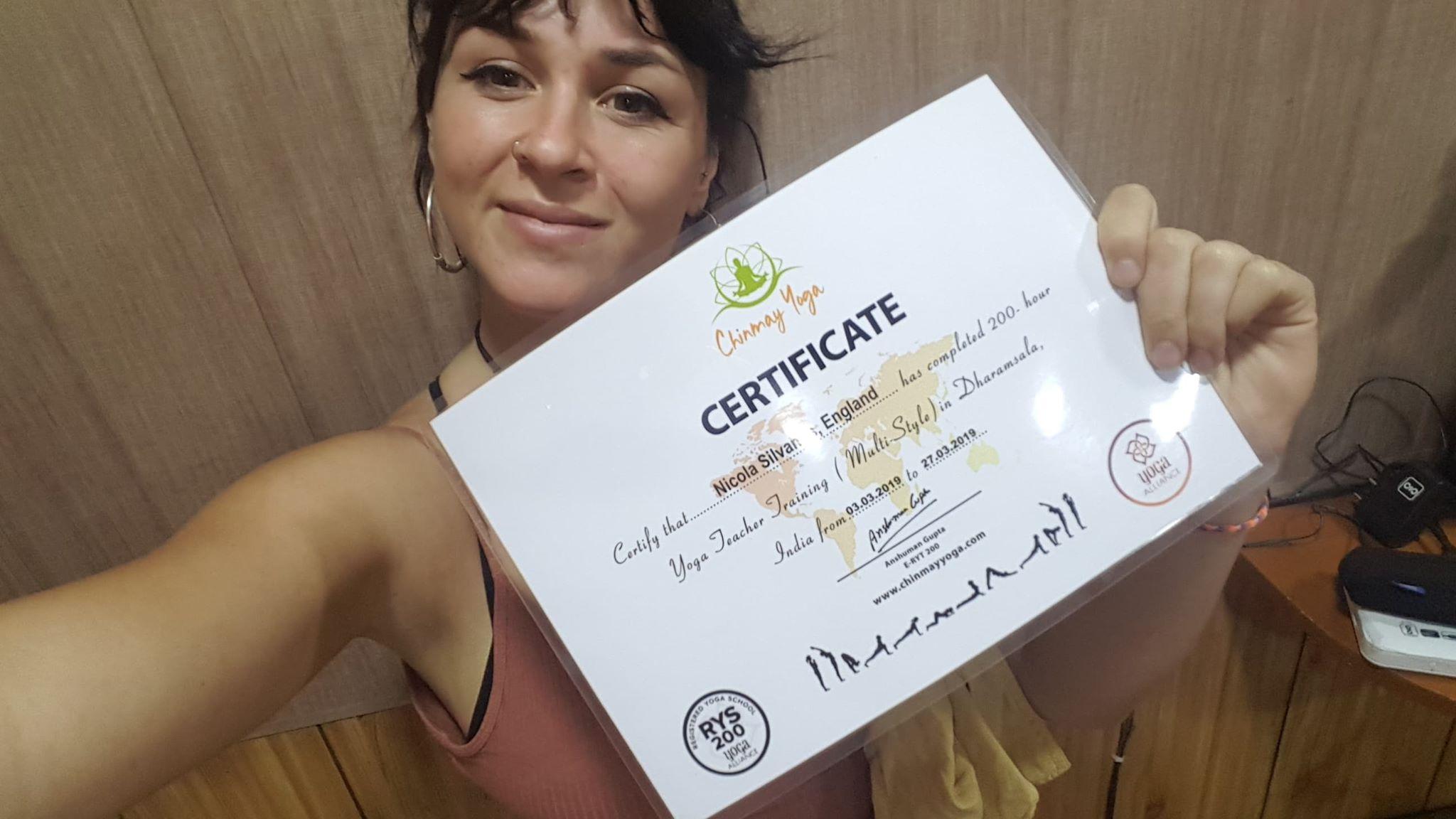 QUALIFIED! 200 hour Yoga Teacher