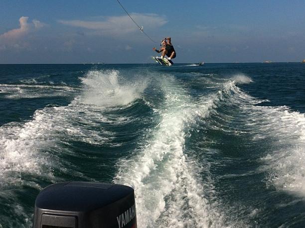 Wakeboarding jump thailand koh phangan things to do
