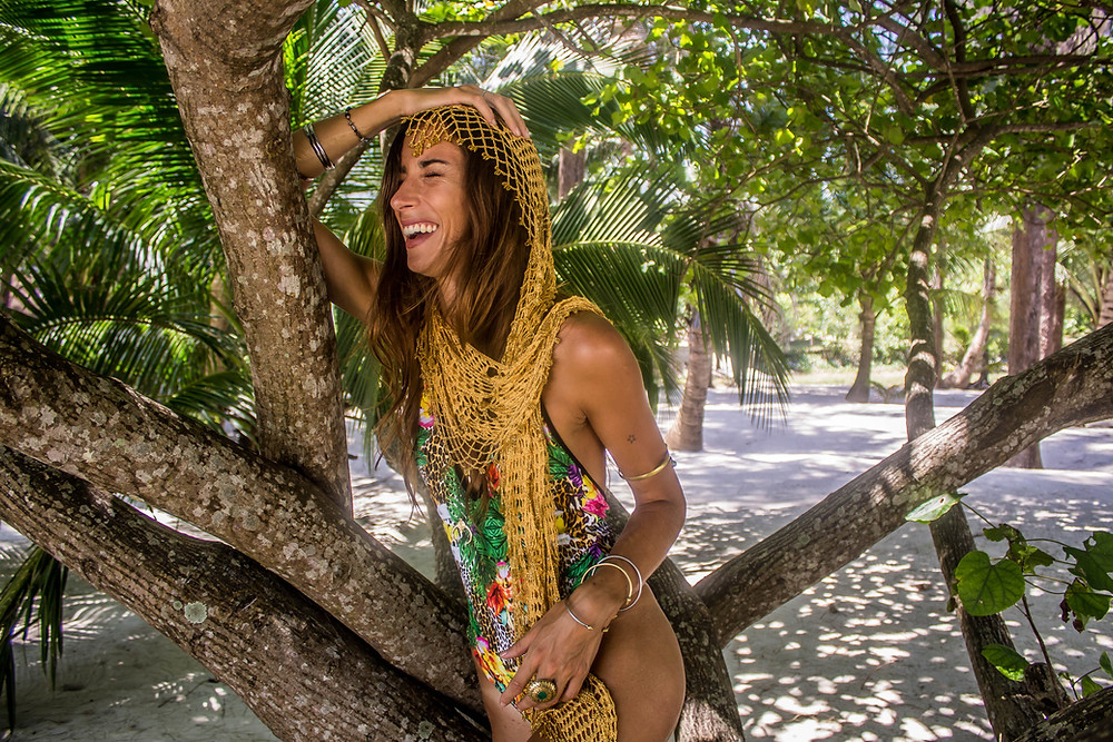 burnt soul clothing nicki silvanus world photographer thailand swimwear under a palm tree
