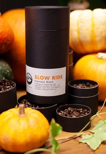 blind owl coffee haloween shoot pumpkin