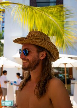 cowboy hat chiang mai tropical photograp