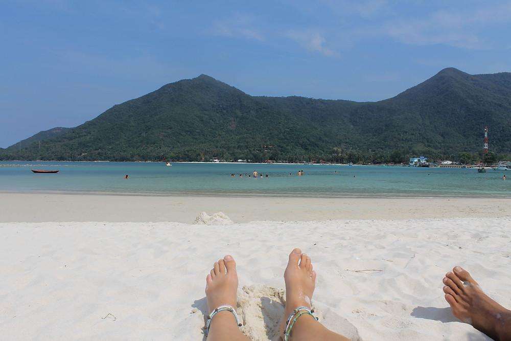 Malibu beach, Koh Phangan nomad life