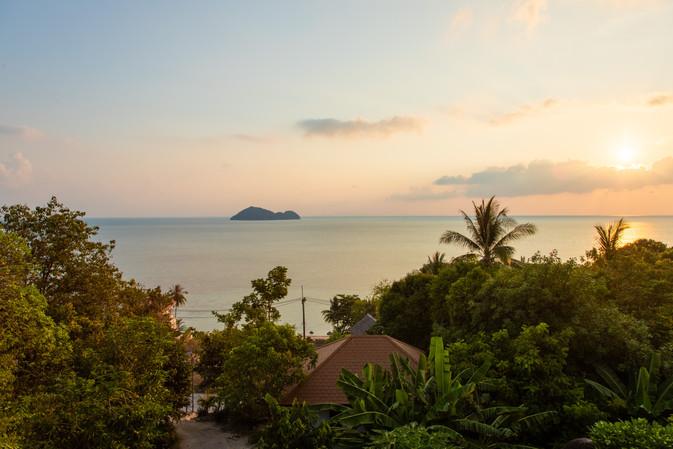 sunset view villa  property photographer