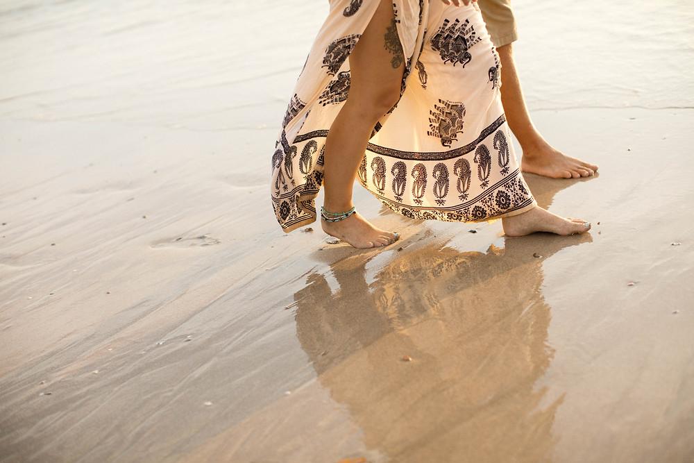 lena larsson sri lanka textile print trousers couple photoshoot golden hour thailand